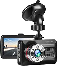 """TOGUARD Dash Cam 1080P Full HD Car Camera DVR Dash Camera for Cars with Super Night Vision, 3"""" Screen 170° Wide Angle, Parking Monitor, G-Sensor, WDR, Motion Detection"""