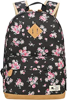 canvas printed backpack