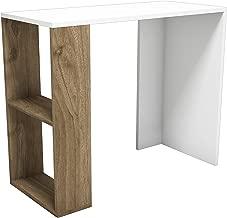 Bravo Nano Studying Desk, White - 75 cm x 90 cm x 40 cm