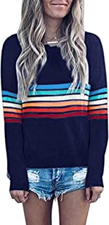 Knitted Sweater for Women - Cute Long Sleeve Pullover Hoodies