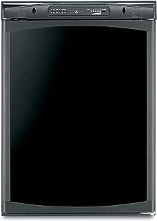 Dometic Black RM2354RB1F Americana Single Door Refrigerator-3 Cubic Feet