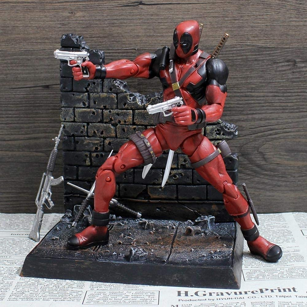 RSWLY Toys 19CM Deadpool Titan Action - 3 Figure Free shipping price Avengers 4