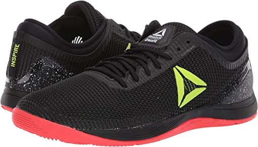 Black/Neon Red/neon Lime/White
