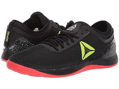 Reebok CrossFit(r) Nano 8.0 (Black/Neon Red/neon Lime/White) Men