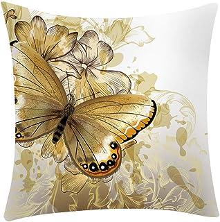 Oriental Mariposa Impreso Clásico Cojines,Barato 45x45 Cm