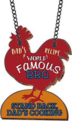 Yaya Cafe for Dad Worlds Famous Dad Recipe BBQ Wall Door Hanging