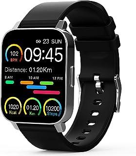 Smartwatch, 1.69Inch Reloj Inteligente, Pulsera Actividad con Fitness Tracker, Cronómetros, Calorías, Podómetro, Pulsómetr...