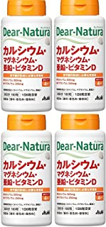 【まとめ買い】ディアナチュラ カルシウム・マグネシウム・亜鉛・ビタミンD 180粒×4個