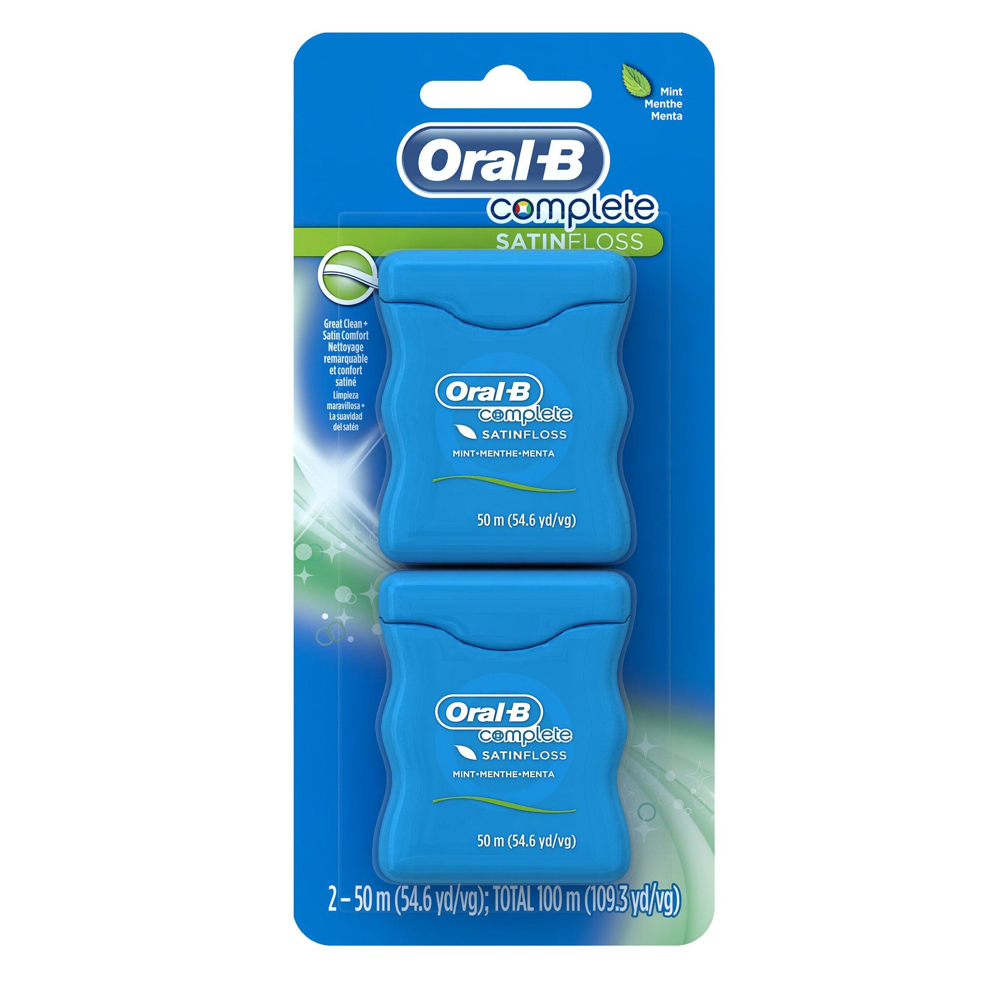 Oral B Complete Satin Dental Floss