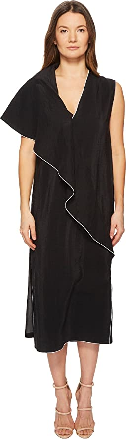 Sportmax Mandare Ruffle Front Dress
