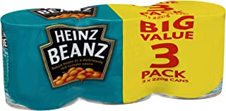 Heinz Baked Beans in Tomato Sauce, 3 x 220g