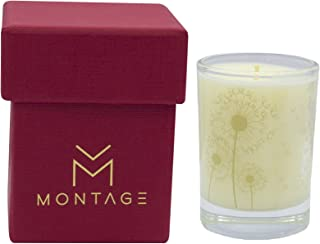 Montage Lifestyle Patchouli, Ylang Ylang & Lavender Soy Wax Votive Candle- Love Affair- Aromatherapy Candle for Sensual with 100% Pure Essential Oils- 1.6OZ- 15Hrs- Handmade in Greece