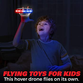 Force1 Scoot LED Hand Operated Drone for Kids or Adults - Hands Free Motion Sensor Mini Drone, Easy Indoor Small UFO ...