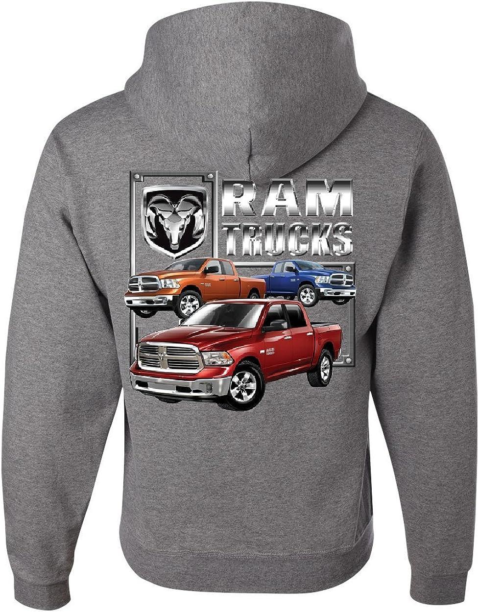 Licensed Dodge Ram Hemi Hoodie Dodge Truck Ram 1500 2500 Sweatshirt