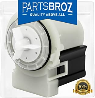 8181684 Washer Drain Pump for Kenmore, Maytag & Whirlpool by PartsBroz - Replaces Part Numbers AP3953640, 1200164, 280187VP, 285998, 8181684, 8182819, 8182821, AH1485610, EA1485610, PS1485610