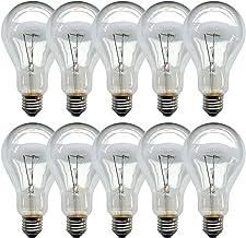 10 x gloeilamp 200 W helder E27 gloeilampen gloeilampen gloeilamp 200 Watt lamp