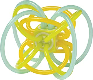 Manhattan Toy 透明 Winkel 摇铃和牙胶婴儿玩具