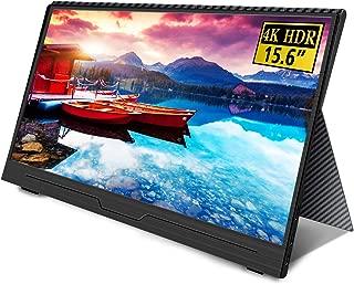 Uperfect 4K 15.6インチ モバイルモニター 3840*2160@60hz/超薄/NTSC72%色域/IPSパネル モバイルディスプレイ USB Type-C/HDMI/Nintendo Switch/PS4 XBOXゲームモニタ  保護ケース付 UP-1509