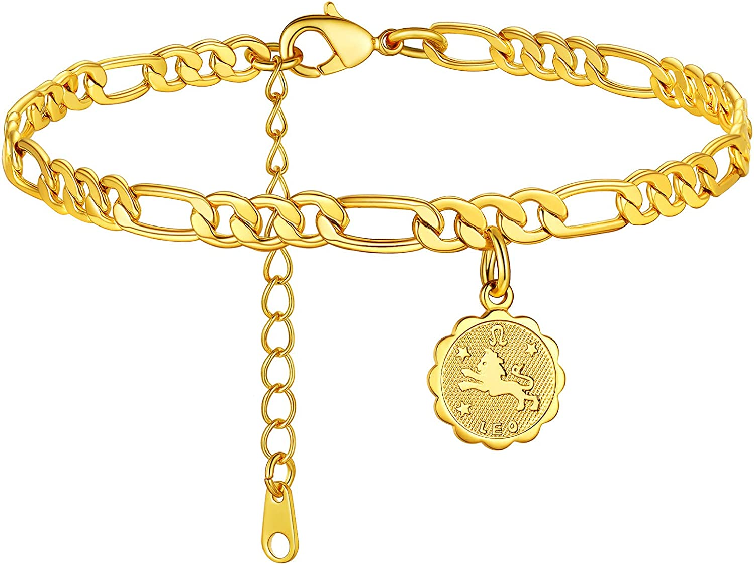 FaithHeart Limited Special Price Customizable Anklet Credence for Women Gold 18K Stainle Plated