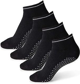 Pilates Ballet Barre Yoga Socks for Women Non-Slip Grips & Sticky Grippers Socks Barefoot Workout