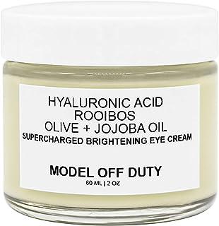 Model off Duty Beauty Supercharged Brightening Eye Cream | Natural & Organic Eye Cream | Hyaluronic Acid, Rooibos, Vitamin...
