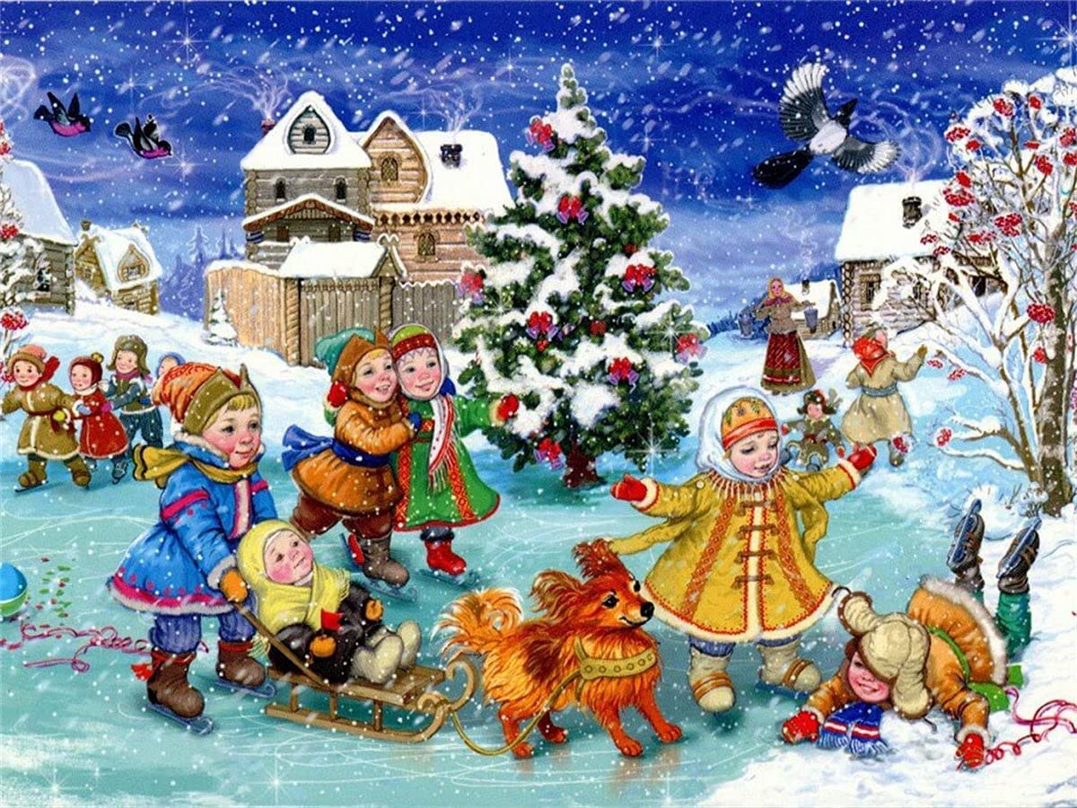 Diamond Painting Kitss for Adults Merry Dia Al New sales sold out. Christmas Drill Full