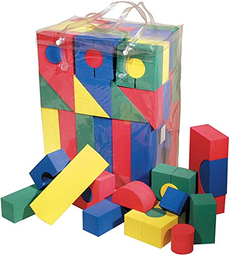 WonderFoam Blocks, Assorted Farbes, 68 Pack