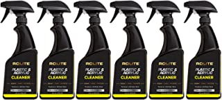 Rolite Plastic & Acrylic Cleaner (16 fl. oz.) for Motorcycle Windshields, Marine Plastic, Aquariums, Headlights, Retail Di...