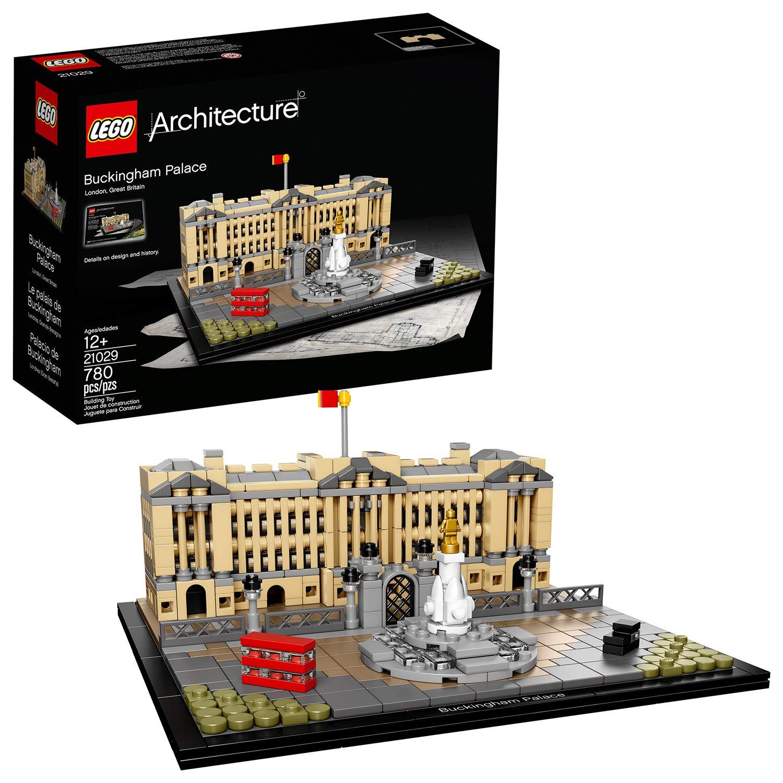 Lego Architecture-21029 Juego de construcción Palacio de Buckingham (21029): Amazon.es: Juguetes y juegos