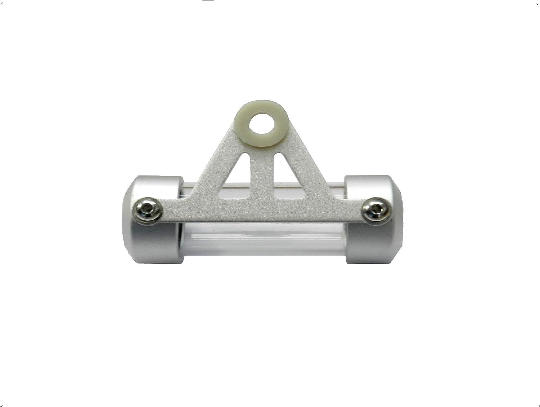 Hopin Mini Halterung Für Vignetten Französisches Format Aluminium Grau Wasserdicht Für Motorrad Scooter Quad Auto