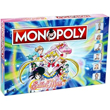 Winning Moves Sailor Moon Monopoly Board Game