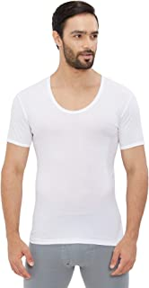 BYC - MEN'S AEROCOOL INNER T-SHIRT (U-NECK) - WHITE