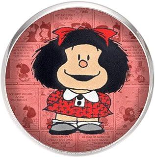Spilla con perno in acciaio inossidabile, diametro 25 mm, spillo 0,7 mm, Fatto a Mano, Illustrazione Mafalda 3
