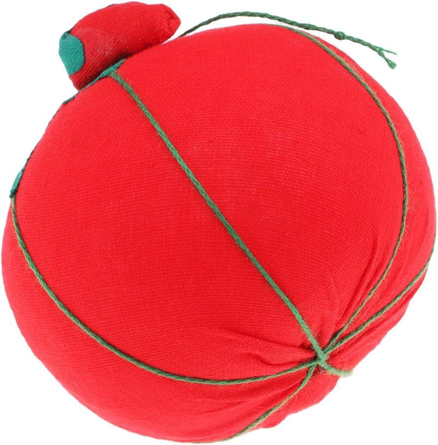 Newmind Handmade Lovely Tomato Shape Pincushion Pillow