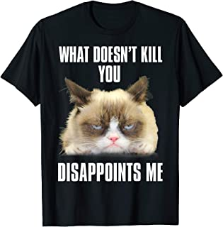 Grumpy Cat Grumpy For President Men/'s Black T-shirt NEW Sizes S-2XL