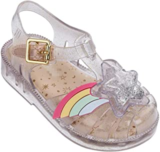 62bed639fad8 Close Toe 3D Rainbow Star Patch Girls Casual Beach Sandals New Mini Soft  Bottom Kids Shoes