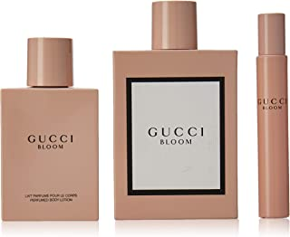 Gucci 3 Piece Bloom Eau de Parfum Spray Gift Set for Women