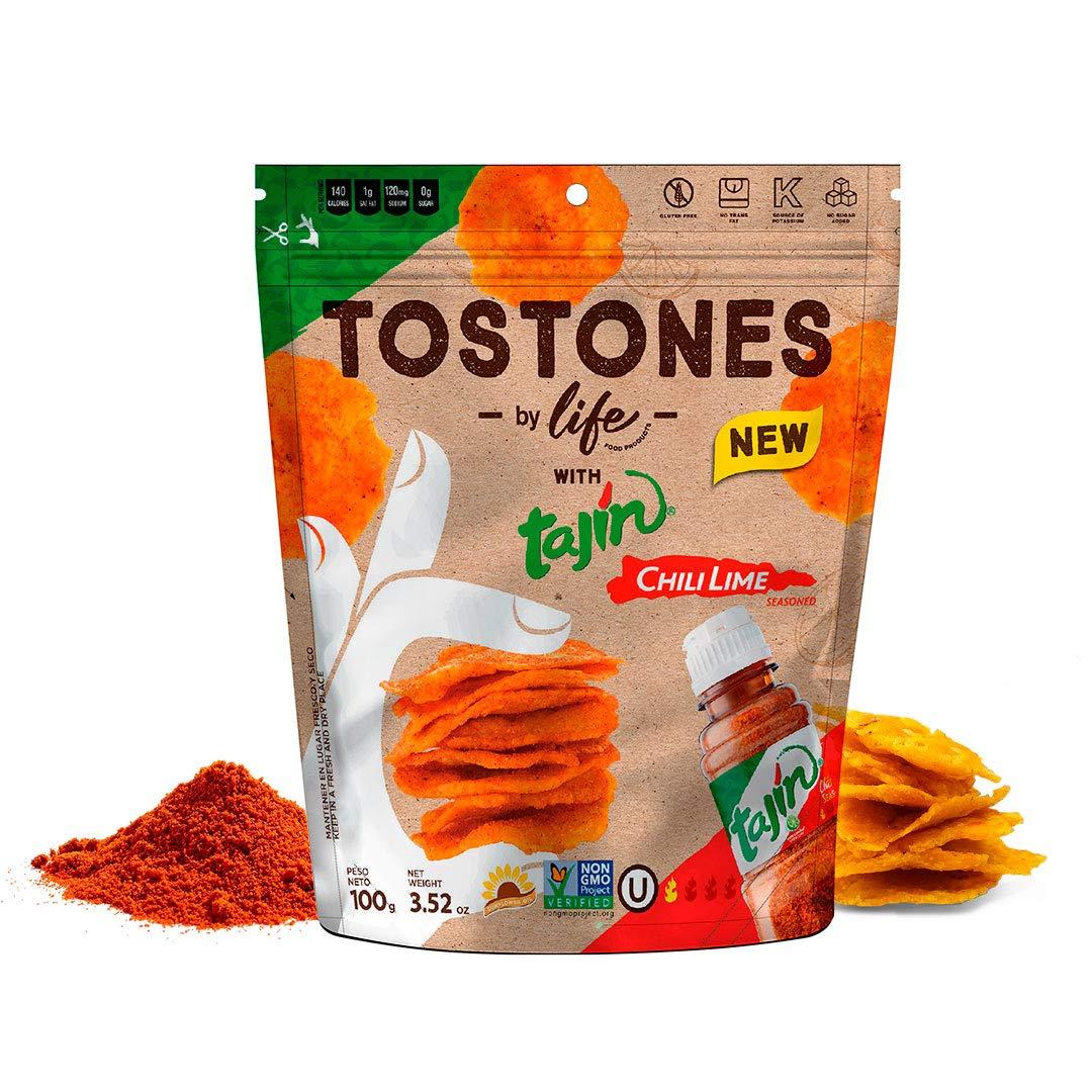 Max 60% OFF Tostones by Chifleton Tajín Premium High quality Thick Plantain S Chips