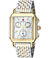 Michele - Deco Diamond Two-Tone Stainless Steel Watch