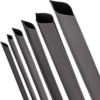 Schrumpfschlauch 2:1 transparent//klar Auswahl aus 10 Gr/ö/ßen und 6 L/ängen Meterware von ISO-PROFI/® hier: /Ø40mm - 5 Meter