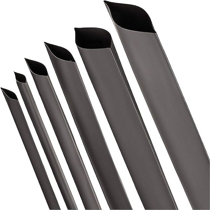 Schrumpfschlauch 2 1 Schwarz Auswahl Aus 13 Durchmessern Und 6 Längen Von Isolatech Hier Ø30mm 1 Meter Baumarkt