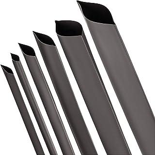 ISOLATECH® Värmekrympningsrör 2: 1 svart urval av 12 diametrar och 5 längder 35mm Ø Lenght 10ft(3m)