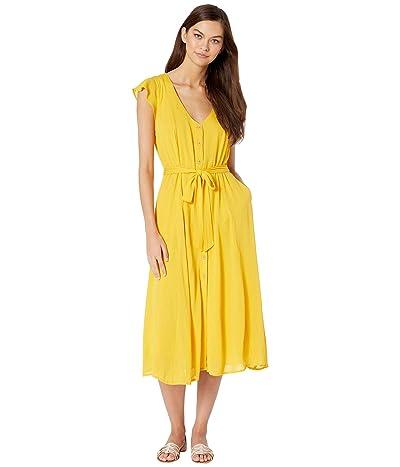 Sanctuary Eden Button Front Dress (Desert Marigold) Women