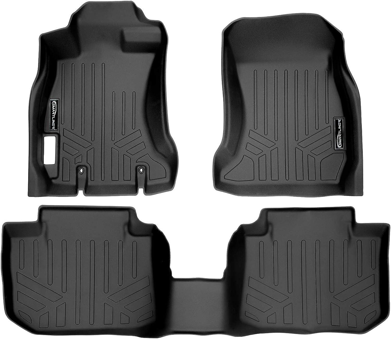 SMARTLINER Custom Fit Floor Elegant Mats 2 Black Row 2013- Max 47% OFF Liner for Set