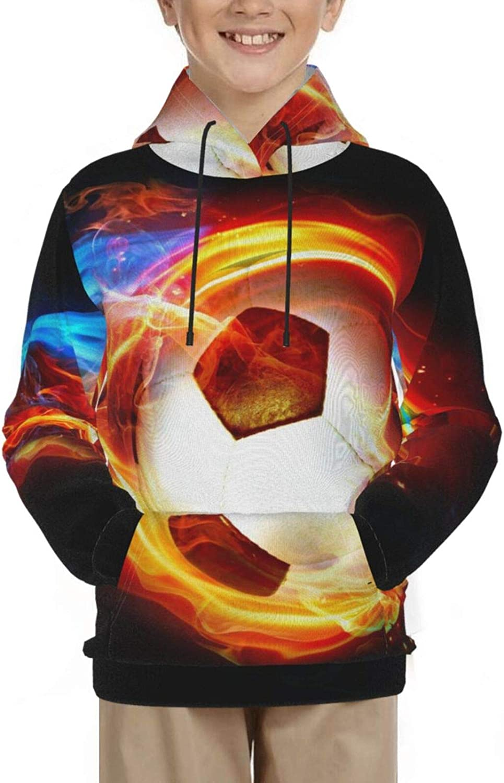 Hooded Sweatshirt for Boys Girls Max 80% OFF Athletic Teens Casual Dedication Junior S