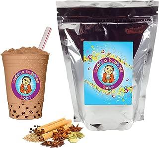 Chai Tea Latte Boba / Bubble Tea Drink Mix Powder By Buddha Bubbles Boba 1 Kilo (2.2 Pounds) | (1000 Grams)