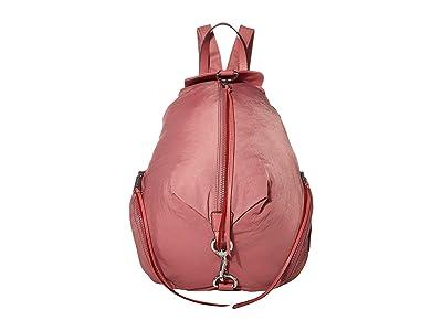 Rebecca Minkoff Julian Nylon Backpack (Fig) Backpack Bags
