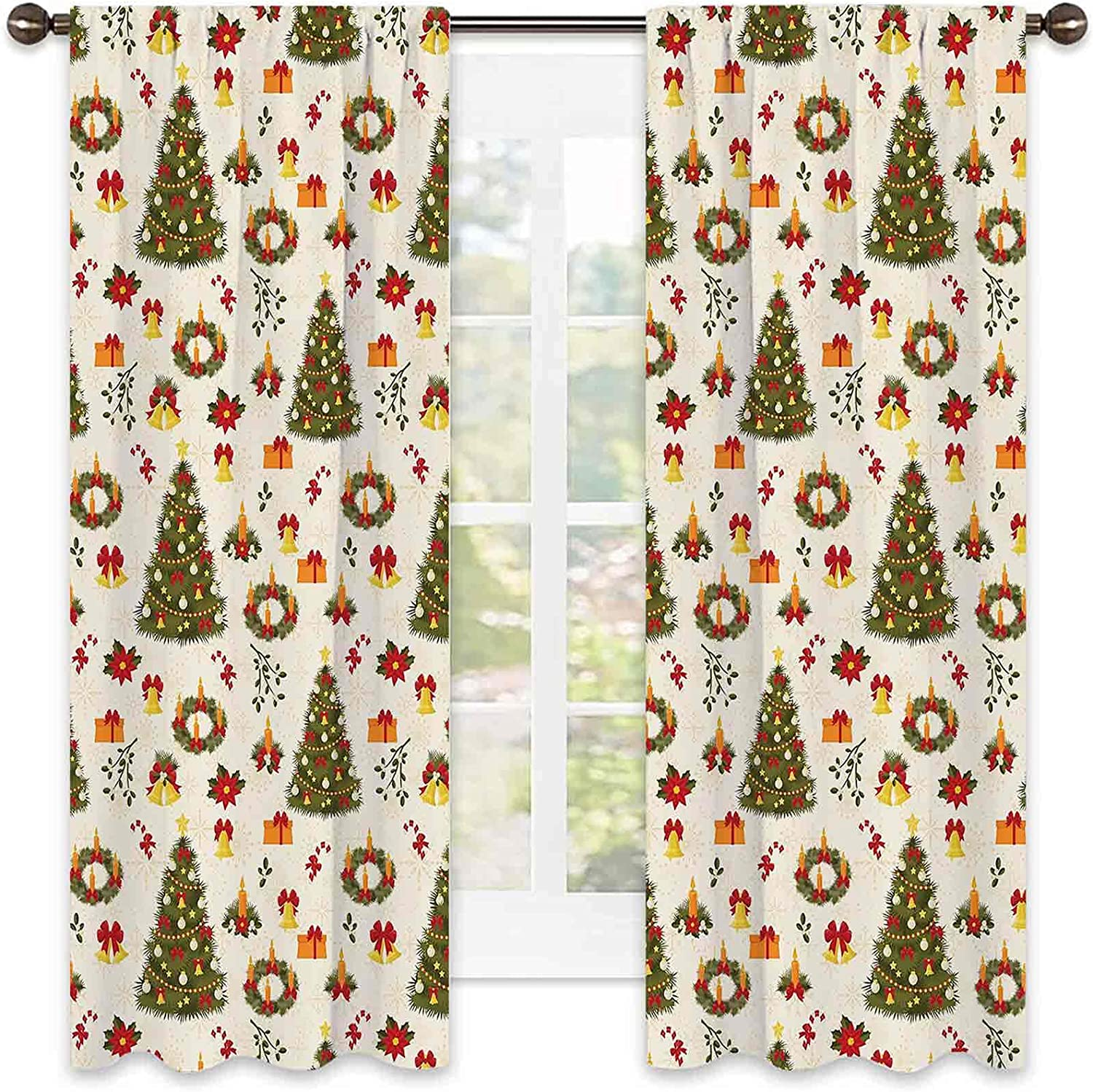 Daily bargain sale Tucson Mall Christmas Wear Resistant Color Curtain Tree Bel and Fir Garland