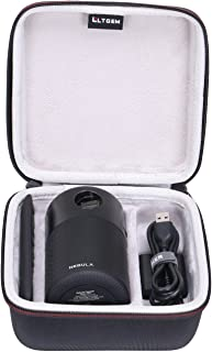 LTGEM EVA Hard Case for Nebula Capsule Smart Mini Projector - Travel Protective Carrying Storage Bag
