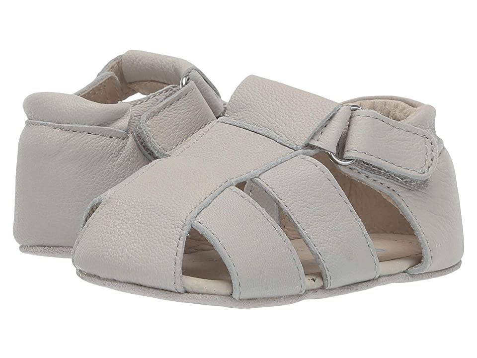 Robeez Matthew First Kicks (Infant/Toddler) (Light Grey) Boy